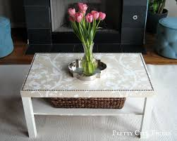 Ikea Side Table Hack Ikea Goes Glam A Lack Hack Coffee Table Makeover Emmerson And