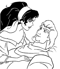the hunchback of notre dame coloring pages wecoloringpage