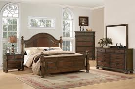 bedroom furniture free shipping augusta traditional walnut finish bedroom furniture set free