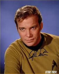 William Shatner as the ubiquitous Captain Kirk