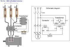 electrical engineering world simple motor control circuit