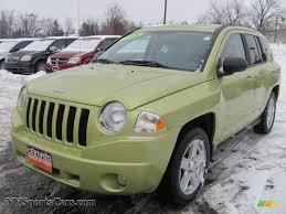 jeep green metallic 2010 jeep compass sport 4x4 in optic green metallic 564322