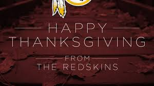 redskins spark backlash after tweeting offensive thanksgiving