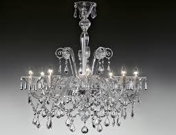 Italian Chandeliers Nella Vetrina Lulu 9016 8 Modern Italian Chandelier Clear Murano Glass