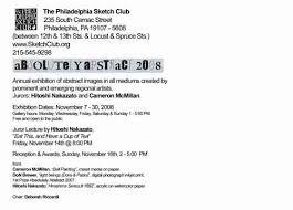 absolutely abstract philadelphia sketch club donartnews