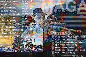 Collage Memes - lisa mei crowley on twitter love these qanon collage memes by one