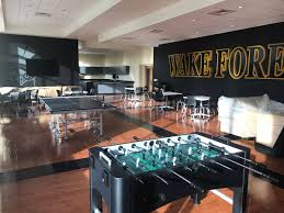wake forest baseball player development center dimensional