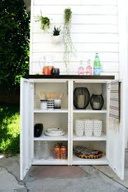 kitchen cabinets diy outdoor buffet 2 ikea metal cabinets and a