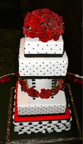 grand red and black wedding cake a wedding cake blog