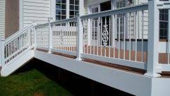 pleasing wrought iron porch railings stair rails for home small