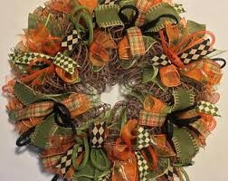 thanksgiving wreath etsy