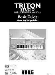 korg musical instrument music workstation user guide