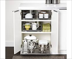 Kitchen Cabinet Storage Baskets Kitchen Kitchen Cabinet Rollouts Shelf With Drawer Cabinet