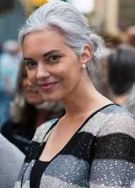 grey hairstyles for younger women grey hairstyles page 7