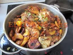 comment cuisiner le poulet cuisine du cameroun la recette du poulet dg