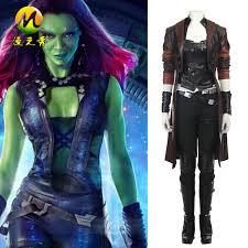 gamora costume aliexpress buy hot sale guardians of the galaxy 2 gamora