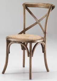 sedie rovere 4 sedie cross design stile vintage country rovere naturale