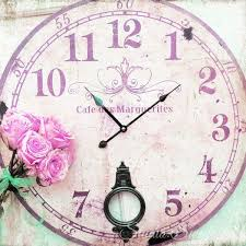 best 25 pink clocks ideas on pinterest shabby chic clock