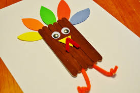 thanksgiving turkey craft sticks craft for turkey craft