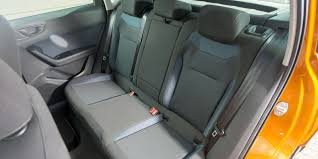 seat ateca blue seat ateca interior practicality and infotainment carwow
