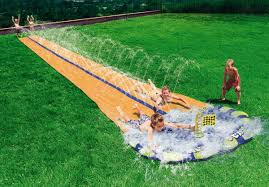 backyard water slide outdoor goods