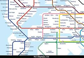 rotterdam netherlands metro map netherlands subway map holidaymapq