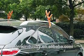 reindeer car santa claus christmas reindeer car antlers car decoration set car