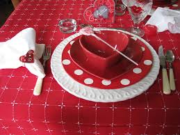 valentine days cool dinner napkin pattern for dining table