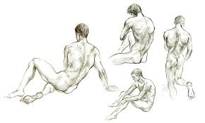 male anatomy sketches by teodorika on deviantart