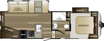 Cougar 5th Wheel Floor Plans 2017 Keystone Cougar Xlite 25res Model