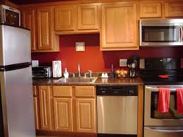 Oak Cabinets Kitchen Ideas with Kitchen Wall Color Ideas With Oak Cabinets Think Carefully Done