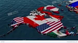 World Map With Flags 3d Flag World Map Zoom To Usa With Clouds Stock Animation 531667