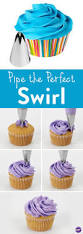 how to pipe the perfect swirl here is another quick way to