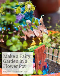create a fairy garden in a flower pot simple practical beautiful how to create a small fairy garden in a flower pot including supplies you need