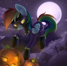 mlp halloween background spotlight on luna nightmare night anti depression ponies