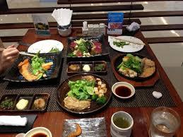 traditional japanese dinner table table setting picture of zen cucina japanese restaurant bangkok