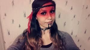 warrior princess halloween makeup images