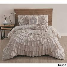 White Ruffled Comforter Shop J Queen New York Celeste Linens The Home Decorating Company