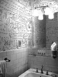 funky bathroom wallpaper ideas hide and seek removable wallpaper from sherwin williams fabrics