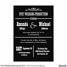 post wedding reception invitations how to create post wedding reception invitations printable