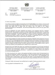 ideas of reference letter for secretary for your job