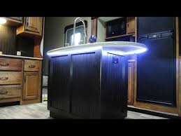 Led Strip Lights In Kitchen by Undersink Led Strip Light For My Rv Youtube