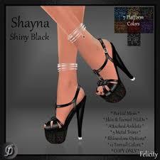 second life marketplace felicity shayna stilettos shiny