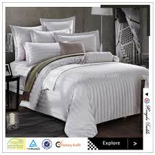 100 cotton white luxury hotel bed linen bedding set used
