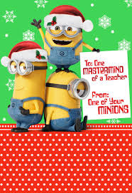 despicable me minions mastermind card for