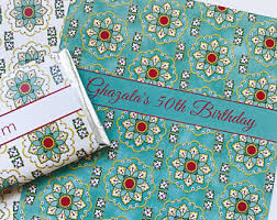 moroccan wrapping paper islamic pattern etsy