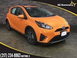 toyota hatchback new 2018 toyota prius c one 5d hatchback in mattoon t24969 kc