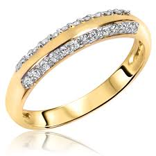 Diamond Wedding Rings For Women by Nice Yellow Diamond Wedding Ring Sets With 10 Ct T W Diamond Women