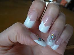 acrylic nails using white tips u2013 new super photo nail care blog