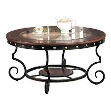 wrought iron end tables wrought iron coffee table round metal coffee table wonderful coffee